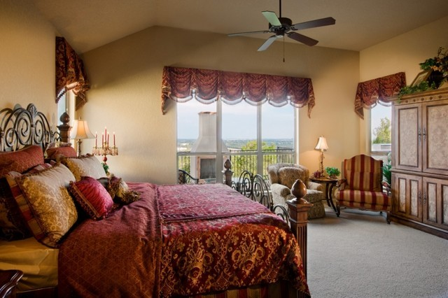 Tuscany Master Bedroom Sitterle Homes Mediterranean