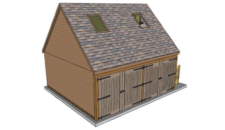 Two Bay Garage Room Above Stable Company