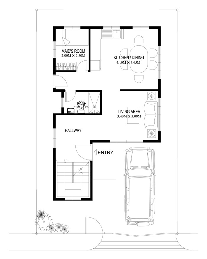 Two Beautiful Contemporary House Plan Amazing