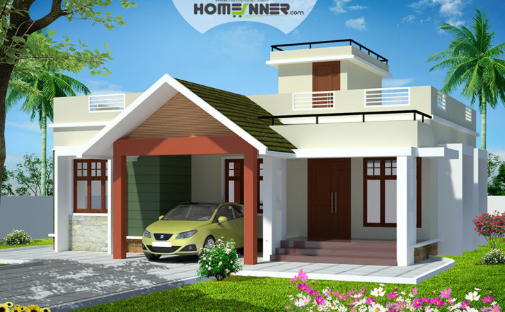 Two Bedroom House Design India Base