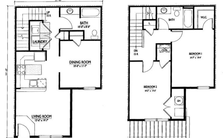 Two Bedroom House Plans Joy Studio