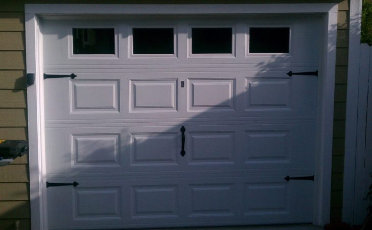 Two Car Garage Door Doors Pavers Custom