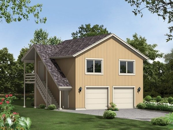 Two Car Garage Plans Apartment Above Cottage House