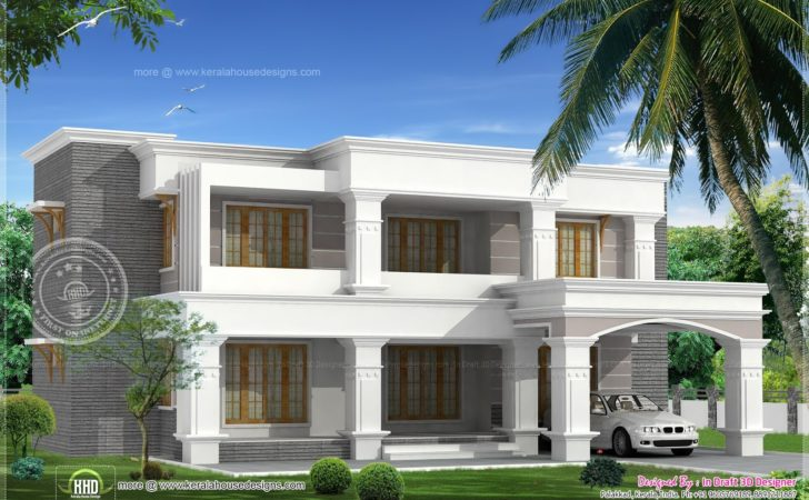 Two Different Elevations Luxury Bed Room Villa
