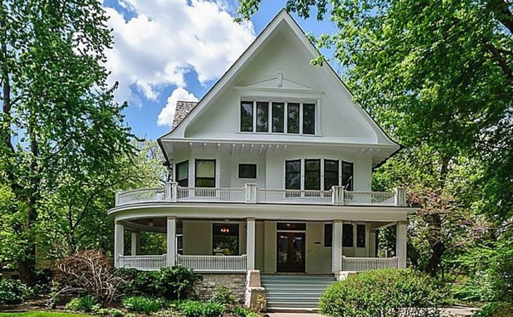 Two Historic Homes Illinois Sale