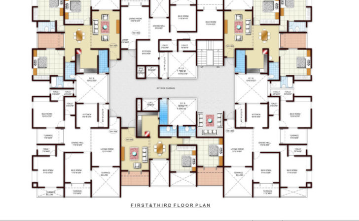 Two Story Apartment Floor Plans