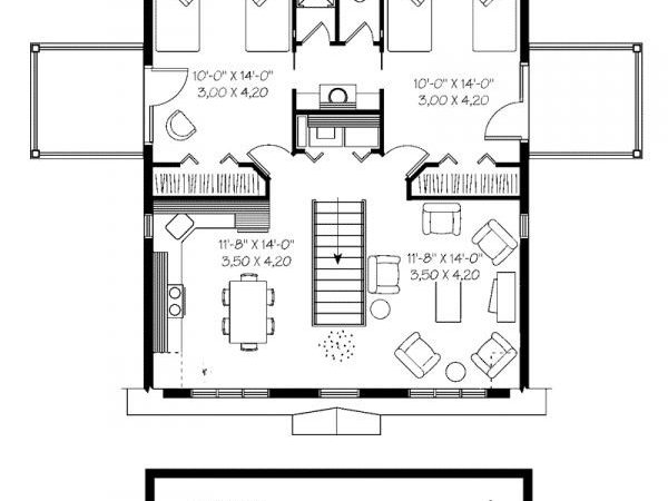 Two Story Apartment Plans Ideas Storey