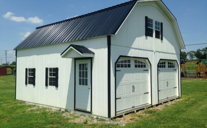 Two Story Barn Garage Sale Outdoor