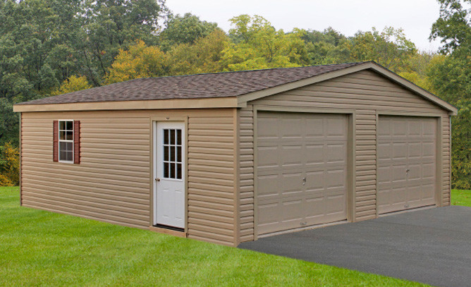 Two Story Garages Lancaster Double Wide