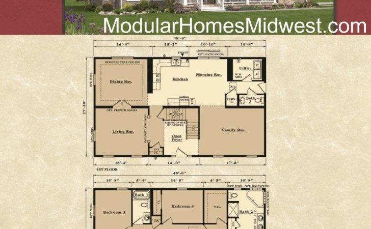 Two Story House Floor Plans Find