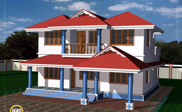 Two Story House Plan Kerala Home Design
