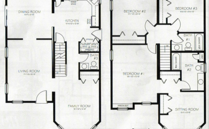 Two Story House Plans Basement Canada Ehouse Plan
