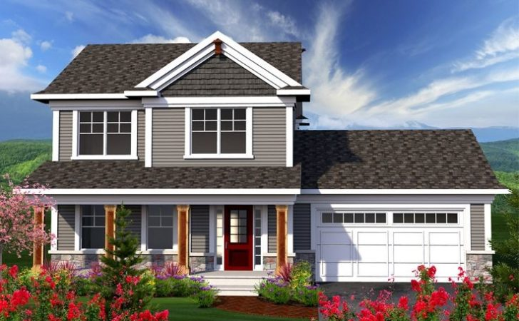 Two Story House Plans Small Home Plan