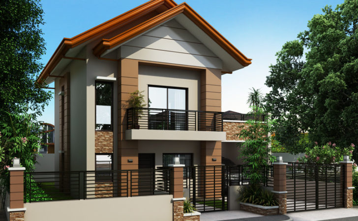 Two Story House Plans Small Lots Philippines Escortsea