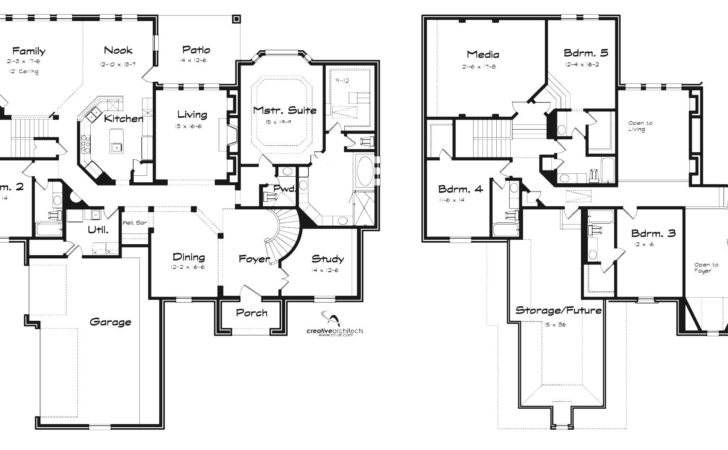 Two Story House Plans