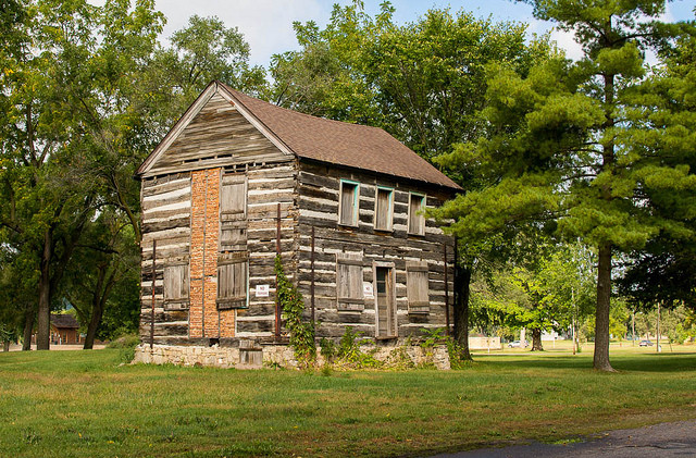 Two Story Log Cabin Flickr Sharing