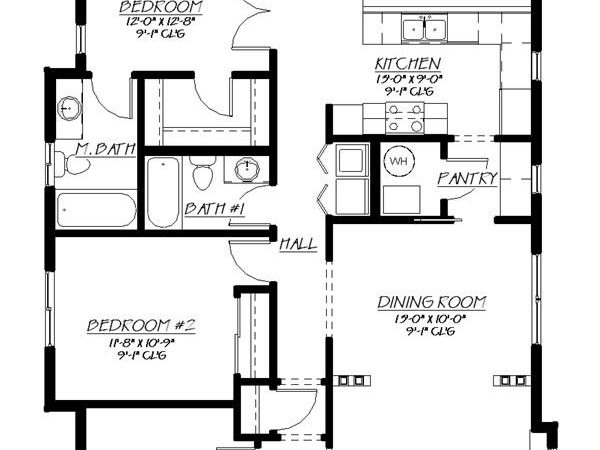 Type House Cool Plans