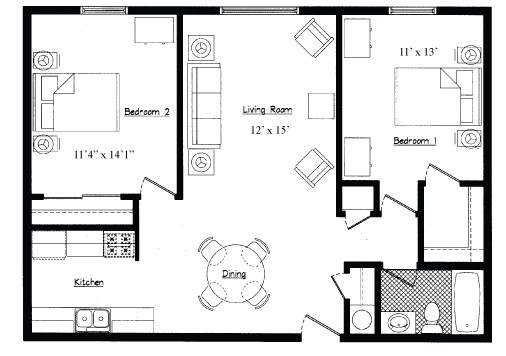 Types Square Feet Apartment Cool