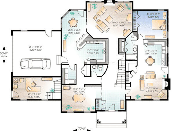 Ultimate Story Home Office Cad Available