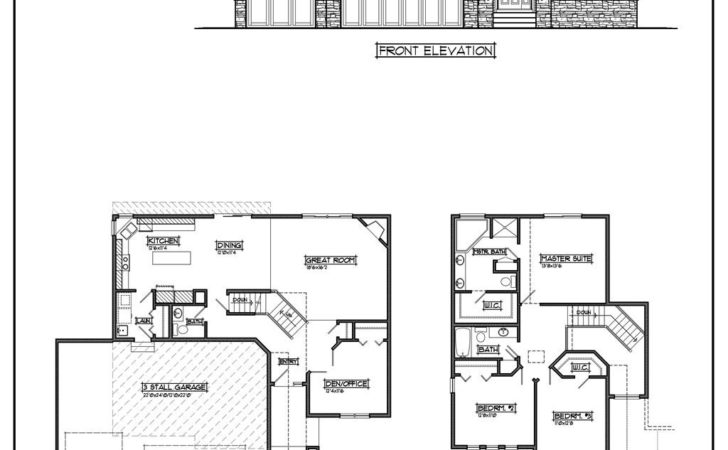 Unique Cheap Home Plans Two Story House