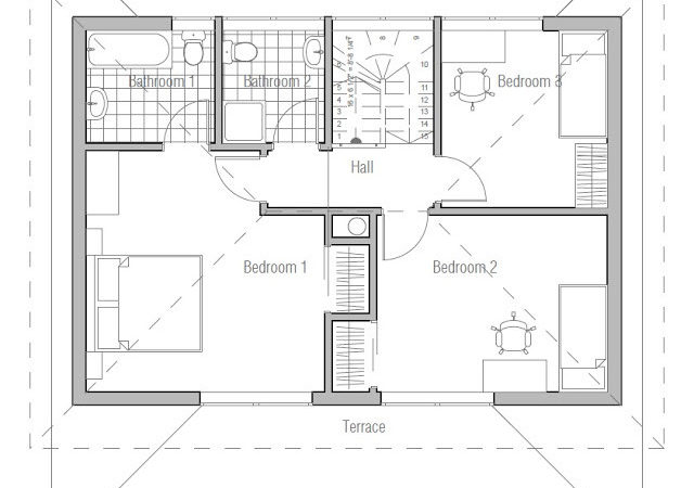 Unique Economical House Plans Cost Build Small