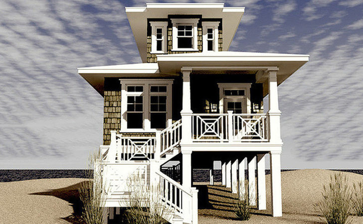 Unique Elevated Home Plans Country Cottage House Plan
