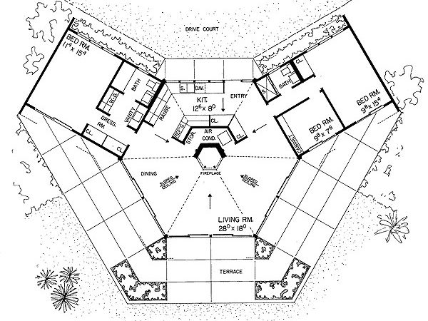 Unique House Plan