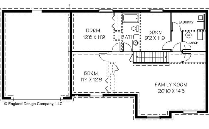 Unique House Plans Basement Simple