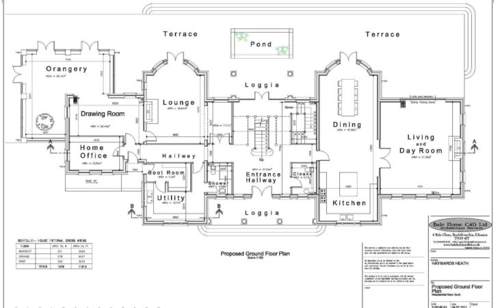 Unique Mansion Home Plans Georgian Floor