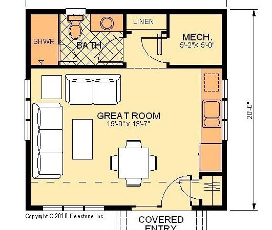 Unique Small Pool House Plans Simple Floor