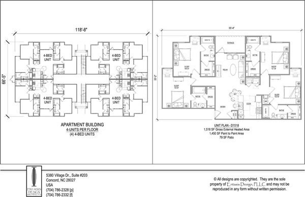 Unit Apartment Building Plans Nice Apartement