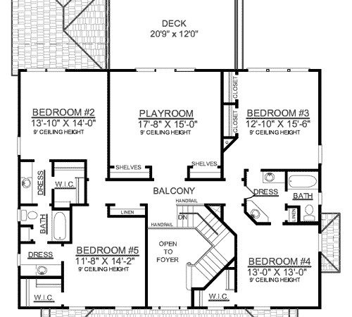 Upstairs Playroom Plus Architectural Designs