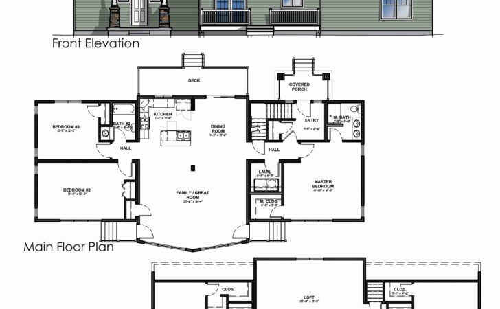 Vacation Home Floor Plans Modular