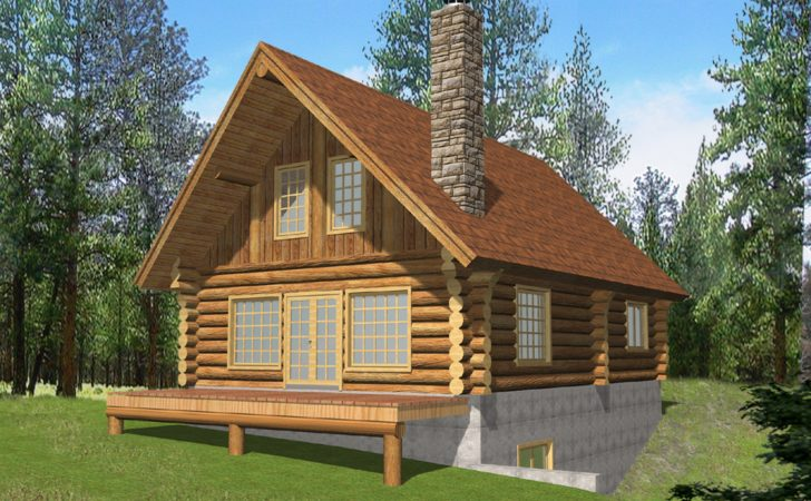 Vacation Log Home Style Cabin