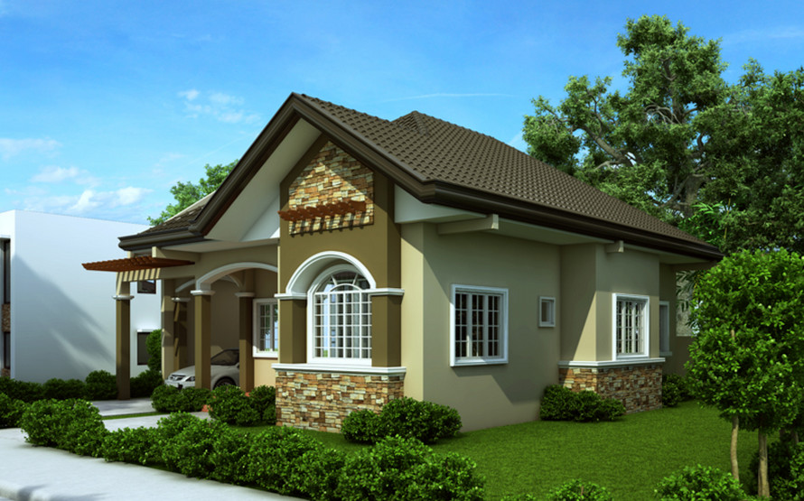 Very Pleasant American Bungalow House Plans