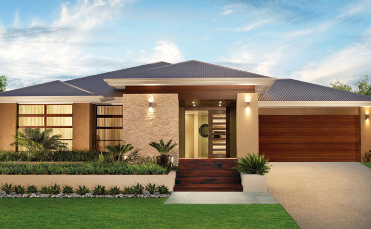 Very Popular Modern Single Storey House Designs
