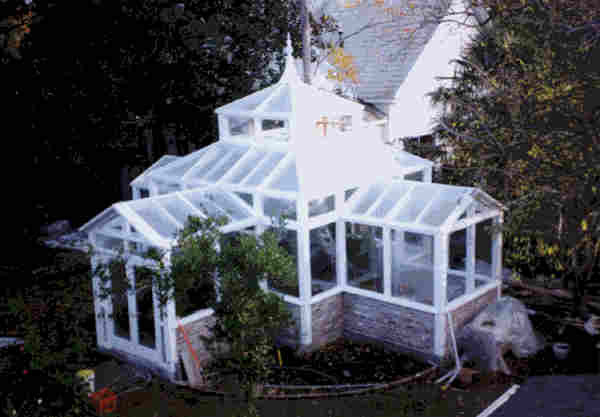 Victorian Conservatory Greenhouse Plans