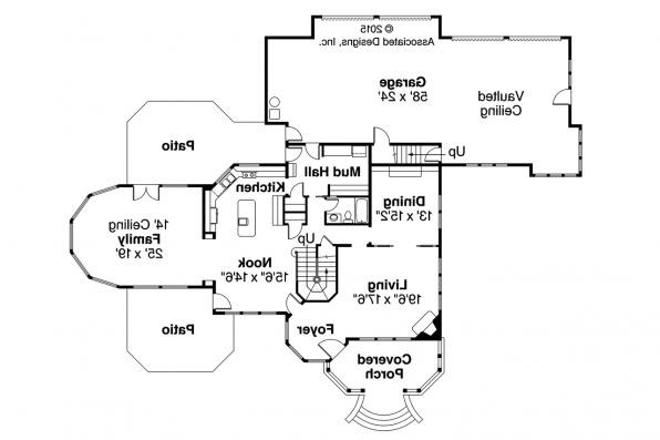 Victorian House Plans Canterbury Associated Designs