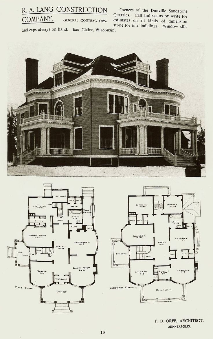 Victorian House Plans Large Plan Old Queen Anne Beach