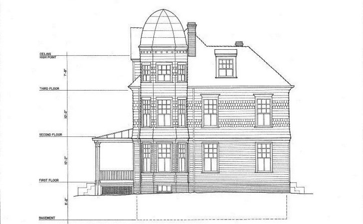 Victorian House Plans Tower Cottage