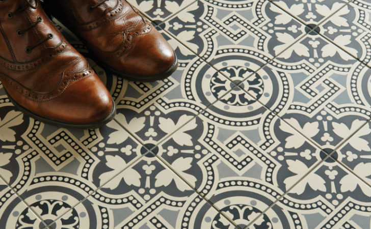Victorian Style Bathroom Floor Tiles