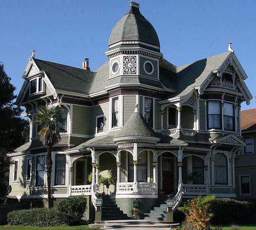 Victorian Style Home Vintage