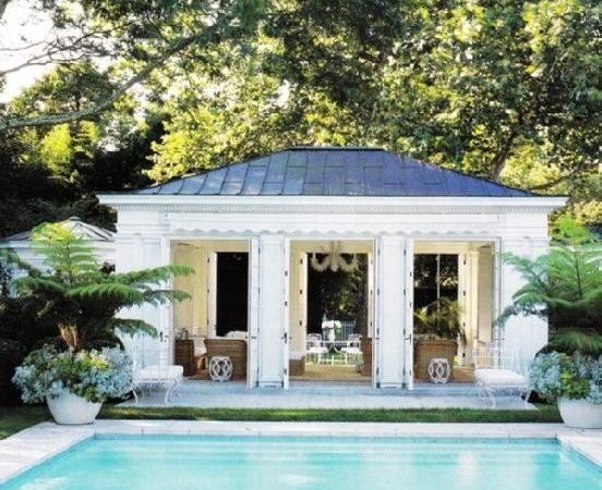 Vignette Design Tuesday Inspiration Pool Houses Caba