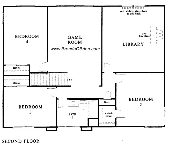 Villages Canada Floor Plan Upstairs