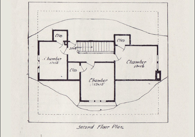 Vintage House Plan Western Home Builder Bungalows