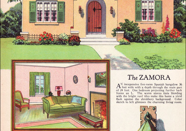 Vintage Spanish Style House Plans
