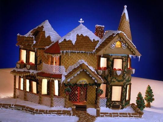 Vote Your Favorite Gingerbread House