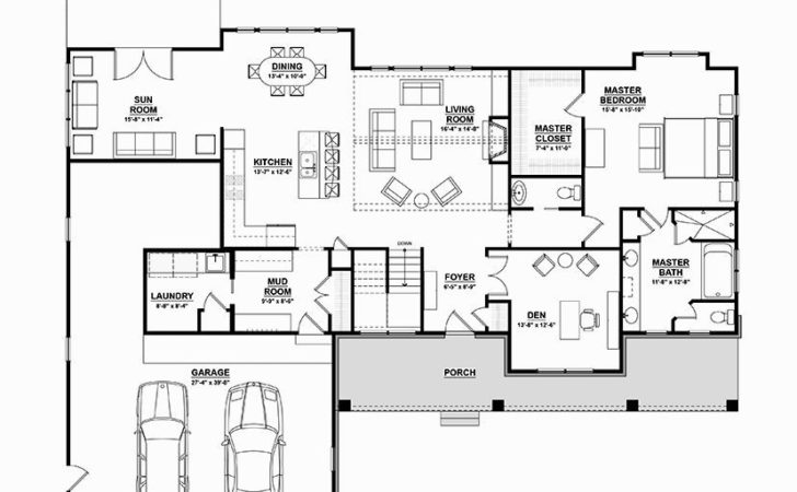 Walkout Ranch House Plans Home Decoration Plan