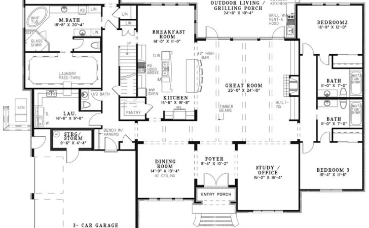 Waringford Traditional Home Plan House Plans