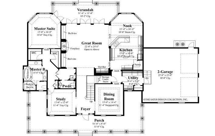 Waterfront House Plans Lakefront Coastal Lake Front Homes